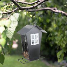 Métal Mangeoire à Oiseaux pour Station de Nourriture Distributeurs