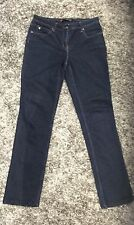 David Lawrence Jeans Size 9 Dark Denim Modern Fit Slim Leg