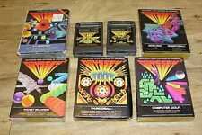 Lot of 7 Original Vintage Magnavox Odyssey 2 Games ~ Untested ~ Free Shipping