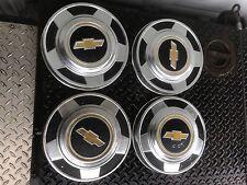 """70's 80's Chevy Truck Suburban Blazer 1/2 Ton Bowtie Hub Caps Dog dish 10.5"""" #2"""