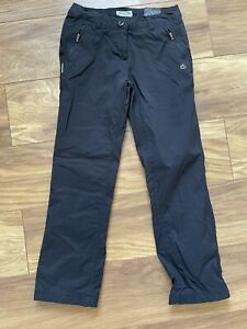 Craghoppers Womens Waterproof/ Windproof Lined Trousers. Size 8