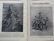 L' ILLUSTRATION 1914 N 3731  SUR LA ROUTE DE BERLIN : LES COSAQUES.