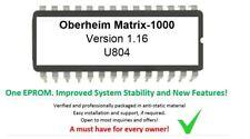 Oberheim Matrix - 1000 – Gligli's 1.16 firmware update upgrade for matrice 1000