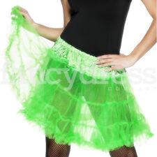Green Retro Underskirt 50s Swing Vintage Petticoat Rockabilly Tutu Net Skirt NEW
