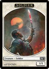 4x TOKEN Soldato 1/1 - Soldier 1/1 MTG MAGIC M13 Magic 2013 Ita