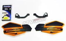 POWER MADD HANDGUARDS POLARIS PREDATOR HAND GUARDS ORANGE BLACK HAND GUARD MOUNT