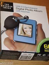 Sharper Image USB 2.0 Digital Photo Album & Key Chain