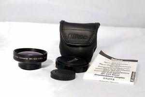 Nikon WC-E24 0.66X wide angle Lens for coolpix mint