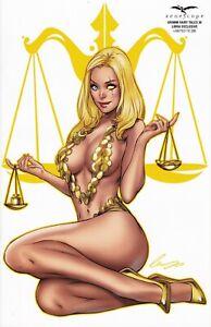 Zenescope Comics Grimm Fairy Tales #30 Libra Exclusive td to 350