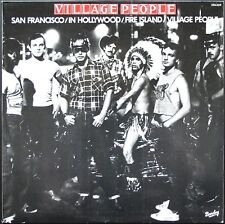 VILLAGE PEOPLE DISCO MUSIC SAN FRANCISCO 33T LP 1977 BARCLAY 598.059 NEUF MINT