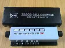 1 Pcs Differential Blood Cell Counter 5 Key With Protective Case Free Shipping