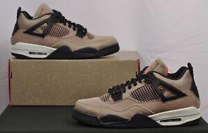 Air Jordan 4 Taupe Haze Mens 12 Sneakers Shoes IV Nike Brown DB0732-200 Travis