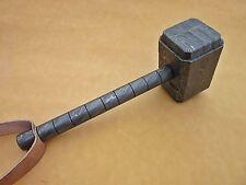 "*NEW*Beautiful Custom Handmade Damascus Steel""Thor Hammer"" Heavy Limited Edition"