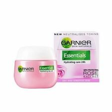 Garnier Essentials Hydrating Care 24h Day Face Cream With Rose Extract  50ml