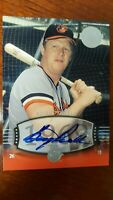 2004 BOOG POWELL Auto  SP #39 UD Timeless Teams  Short Print  !