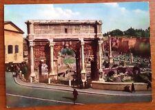 Roma Arco Di Settimio Severo Rome Italy Postcard Kodak Ektachrome fotocolor