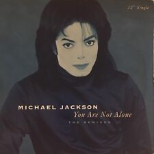 "MICHAEL JACKSON ""You Are Not Alone"" 12"" Single, 1995 EPIC M- VINYL"