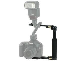 Custom Brackets CB Folding-S Camera Flash Bracket