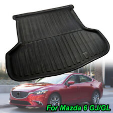 Fit For Mazda 6 2014- Atenza m6 Rear Trunk Cargo Mat Boot Liner Floor Pad Tray