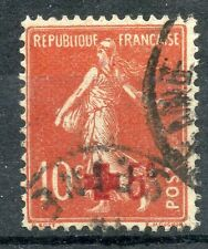 STAMP / TIMBRE FRANCE OBLITERE N° 146 CROIX ROUGE / Photo non contractuelle