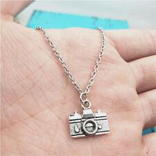 Camera silver Necklace pendants fashion jewelry accessory,creative Gift