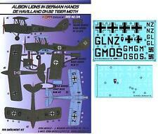 KORA Decals 1/48 DE HAVILLAND D.H.82 TIGER MOTH Captured Luftwaffe Version