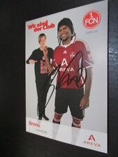62121 Breno 1.FC Nürnberg EX FC Bayern München original signierte Autogrammkarte