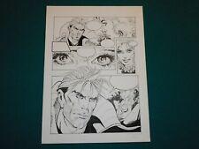 Gino Scott Original Comic Art - Tavola # 11 Nathan Never storia Agenzia Alfa