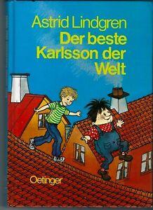 Der beste Karlsson der Welt von Astrid Lindgren | Buch | Zustand sehr gut