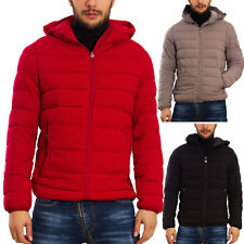 Piumino uomo cappuccio giubbotto giacca TOOCOOL zip giaccone invernale YP-28089