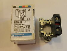 ZB4BZ102 N/C Panel Mounted Contactor Block SCHNEIDER ELECTRIC / TELEMECANIQUE