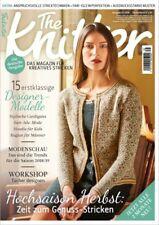 The Knitter - Das Magazin für kreatives Stricken -- Heftauswahl  Jahrgang 2018 !