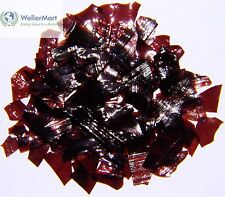 Dewaxed Garnet Shellac Flakes 1/2 lb, or 8 oz, Quality, Antique Restoration
