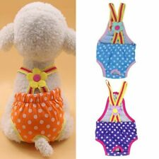 Cute Female Pet Dog Cat Diaper Pants Physiological Sanitary Washable Underwear