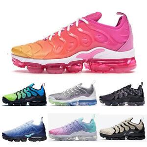 2021 Womens Mens TN Vapor Running Shoes Air Cushion VM Metallic Trainer Sneaker