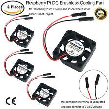 4X 5V DC Cooling Fan Heatsink Cooler For Raspberry Pi 4 2 3 B A B+ A+ ALL Models