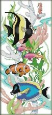 Tropical Fish. Aquarium. Reef. 14CT Counted Cross Stitch Kit. Craft Brand New.
