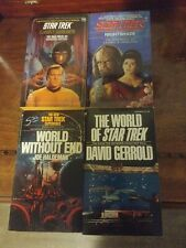 Star Trek novel lot (4) - all 1st prints, all signed