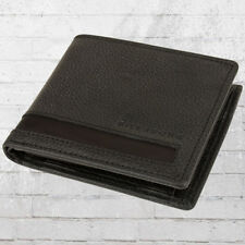 Billabong Wallet Empire Leather Wallet Purse Black Wallet Portmone