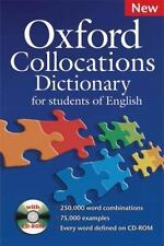OXFORD COLLOCATIONS DICTIONARY FOR STUDENTS OF ENGLISH (2009, Mixed Media)