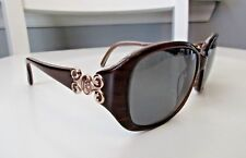 "Jessica McClintock JMC550 Brown Horn Women's Sunglasses ""Frames Only"""