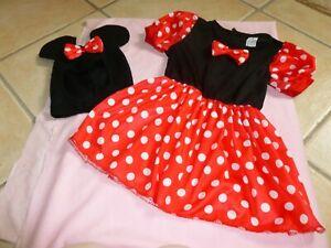 Girls Minnie Mouse fancy dress