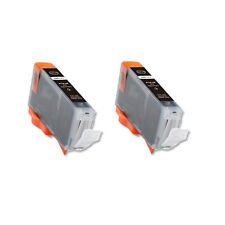 2 PK BLACK Replacement Ink for Canon BCI-6BK S800 S820 S830 S900 S9000 i860 i950