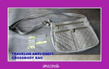 BRAND NEW Travelon Anti-Theft Travel Crossbody Bag RFID Blocking Slash Proof