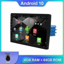 "9"" Car Radio Auto Android 10.0 Wifi BT Map GPS Navi 4GB+64GB DAB OBD AUX Carplay"