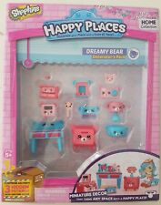 Brand New Shopkins Happy Places Dreamy Bear Decorators Pack