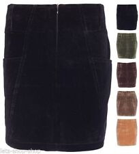 Unbranded Corduroy Patternless Skirts for Women
