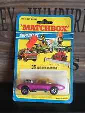 Matchbox Superfast no.36B-13.Version mint Rare US-Blistercard from 1971