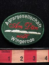Am Dun Agrargesellschaft WINGERODE GERMANY Patch Agricultural Society 68T5