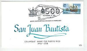 Vermont Scribes Handpainted 2805 PUERTO RICO SAN JUAN BAUTISTA Pictorial Cancel